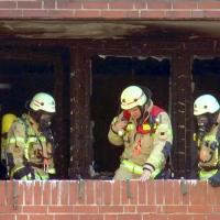 Balkonbrand in der Prinzenallee