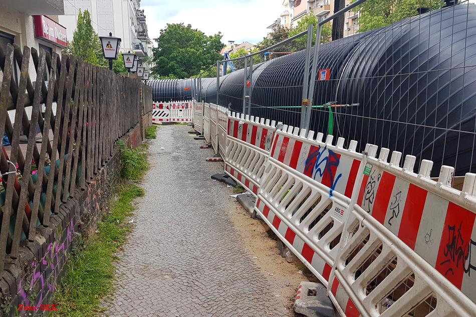 grüntaler Straße Abwasserkanal erneuert (2)