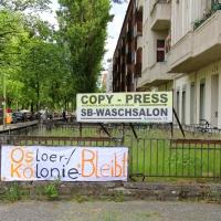 Protest gegen Verdrängung
