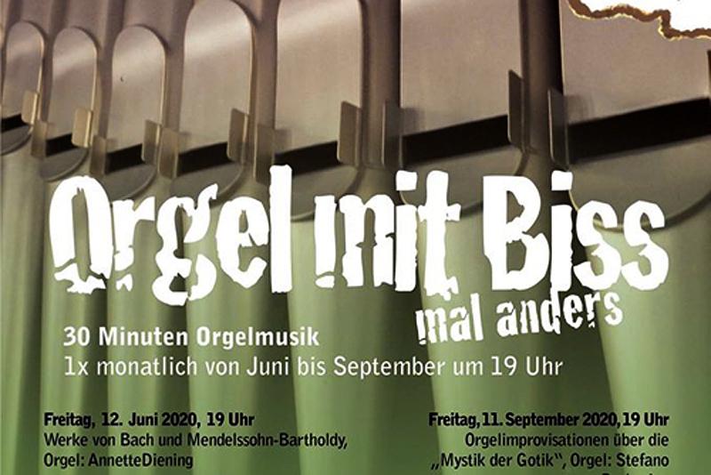 Orgel mit Biss Soldiner Kiez stephanuskirche