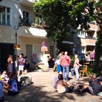 Waldenserstraße 9 verkauft - Mieter protestieren gegen Verdrängung
