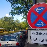 Für Autos wird es eng im Soldiner Kiez