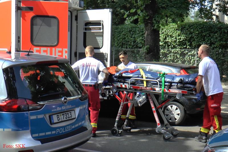 Unfall Kind BVG Bus Soldiner str (1)
