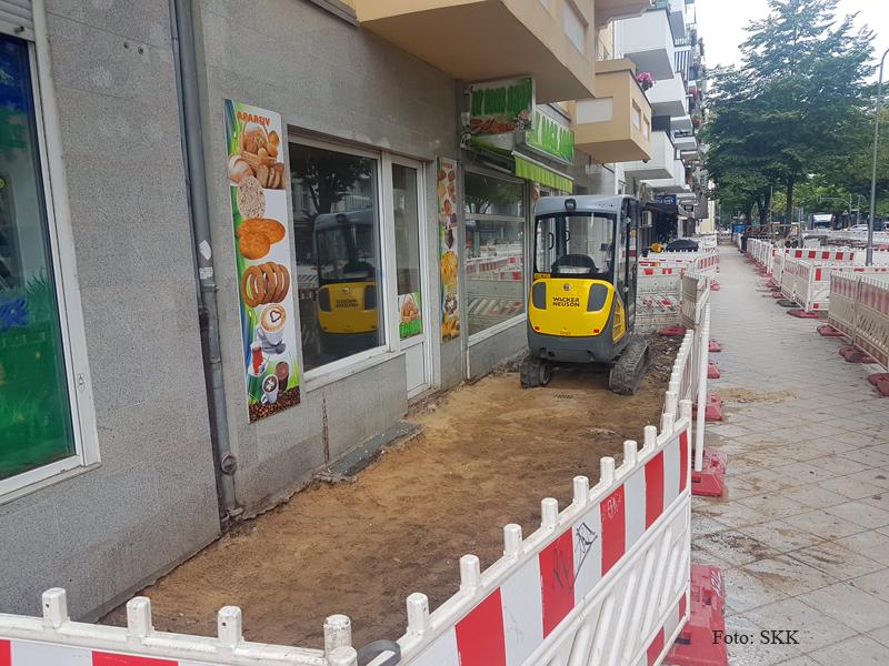 Baustelle Soldiner Straße