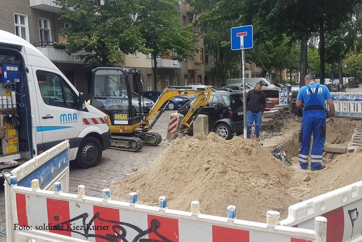 beschädigte Gaszuleitung Soldiner Straße1.jpg