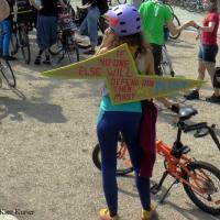 Mit dem Fahrrad gegen Kohle
