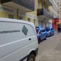 Bombenalarm an der Soldiner Straße
